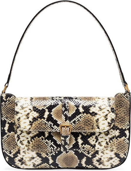 By Far Miranda snake-effect shoulder bag