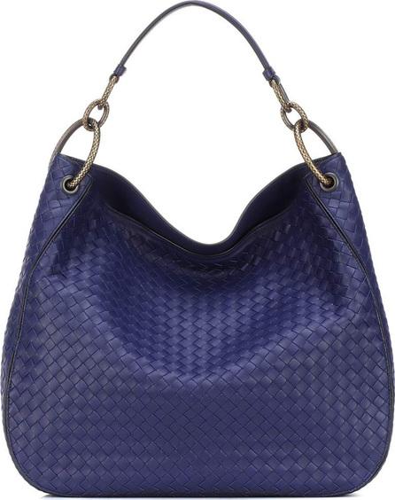 Bottega Veneta Loop intrecciato leather shoulder bag
