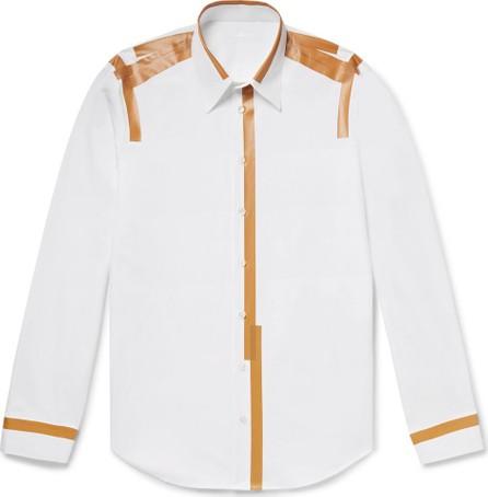 Helmut Lang Printed Cotton-Poplin Shirt