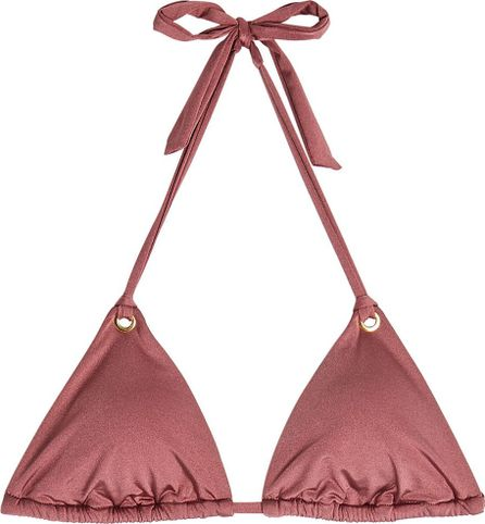 Heidi Klum Intimates Majestic Shimmer Triangle Bikini Top