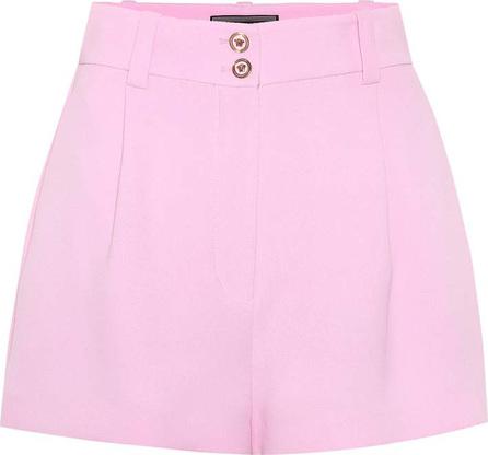 Versace Tribute high-waisted silk shorts