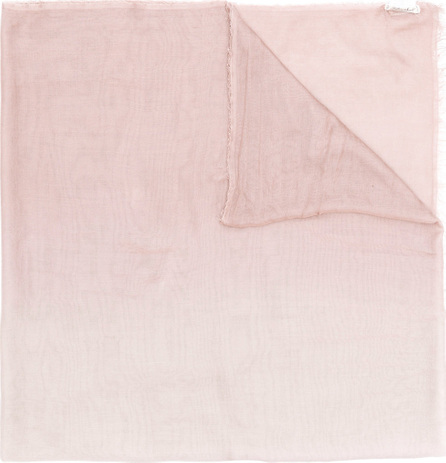 Faliero Sarti Tonal frayed edge scarf