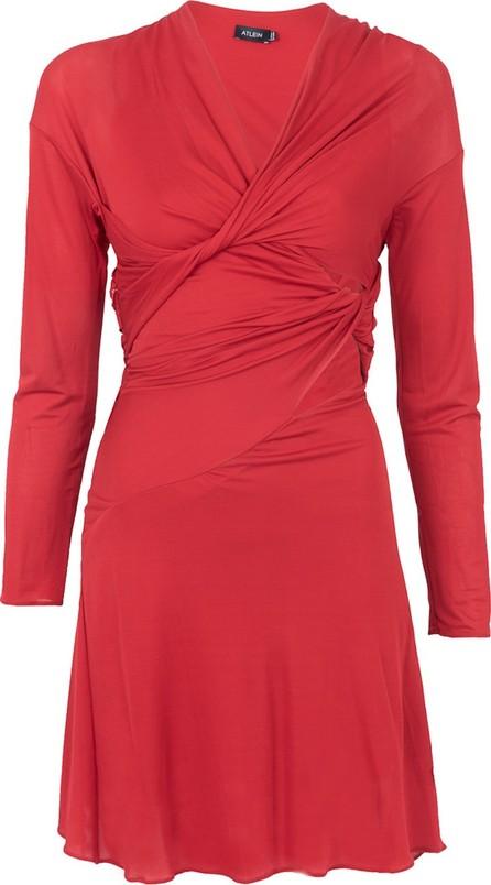 Atlein Viscose Twisted Dress