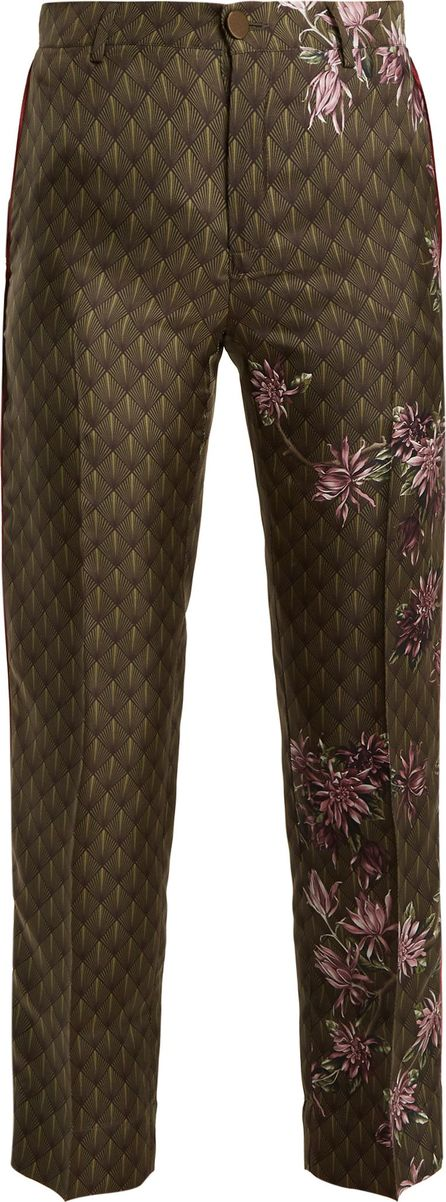 F.R.S For Restless Sleepers Tartaro floral-print satin pyjama trousers