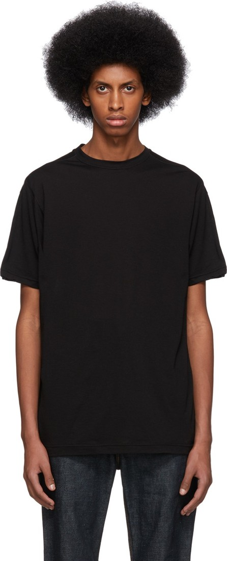 The Viridi-Anne Black Silk T-Shirt