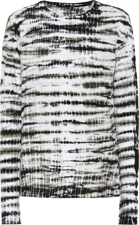 Proenza Schouler Printed cotton long sleeved top