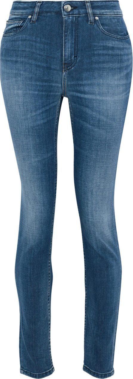 IRO Faded mid-rise skinny jeans