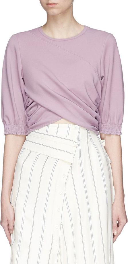 3.1 Phillip Lim Twist front cropped top