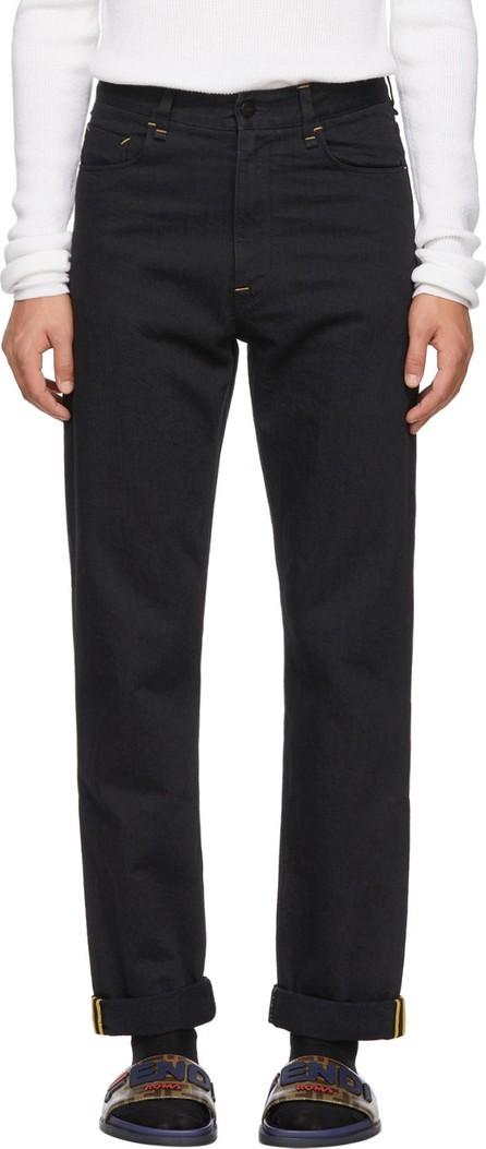 Fendi Black 'Fendi Mania' Jeans