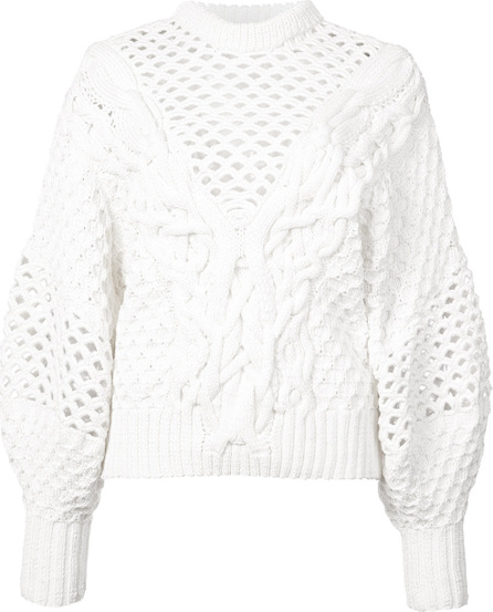 Prabal Gurung Claire Cable Knit sweater