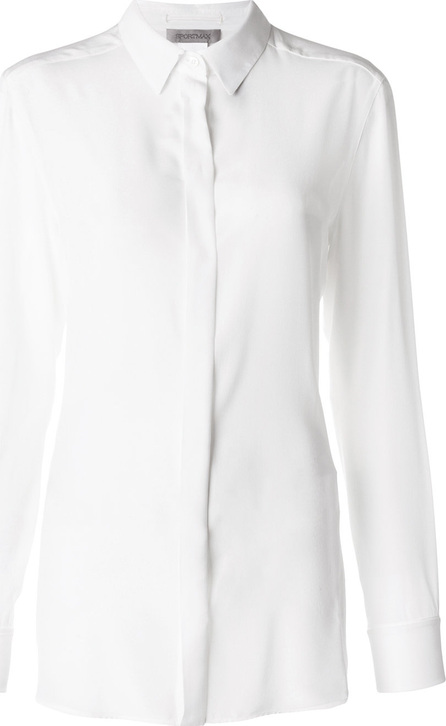 Sportmax Classic collared shirt