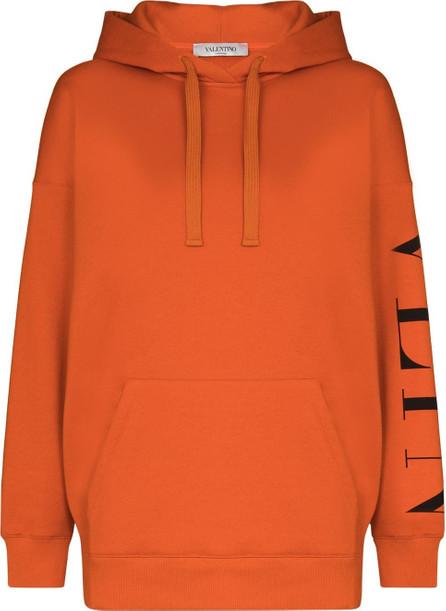 Valentino Logo-print long-sleeve hoodie