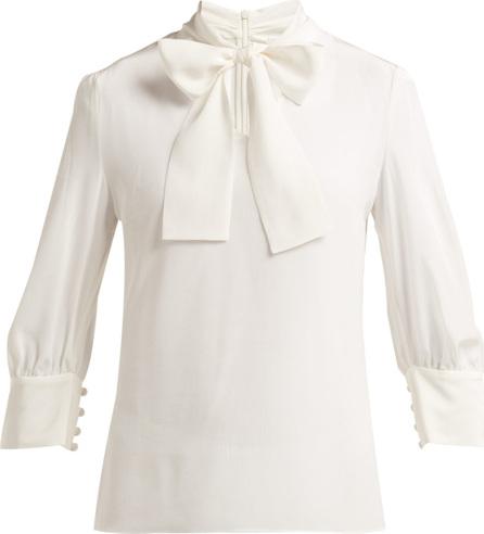 Goat Greta silk crepe de Chine blouse