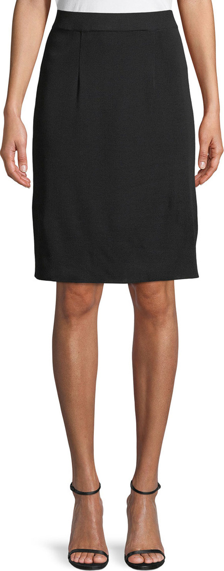 Misook Straight Knee-Length Skirt