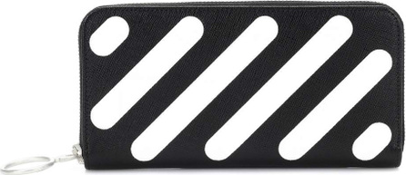 Off White Diag Medium leather wallet