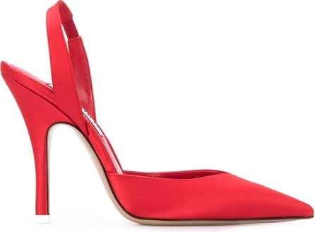 The Attico Pointed slingback pumps
