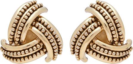 Etro Gold-tone clip-on earrings