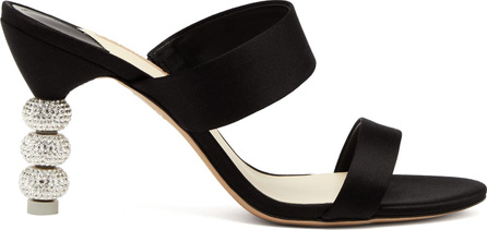 Sophia Webster Jumbo Rosalind crystal embellished-heel sandals