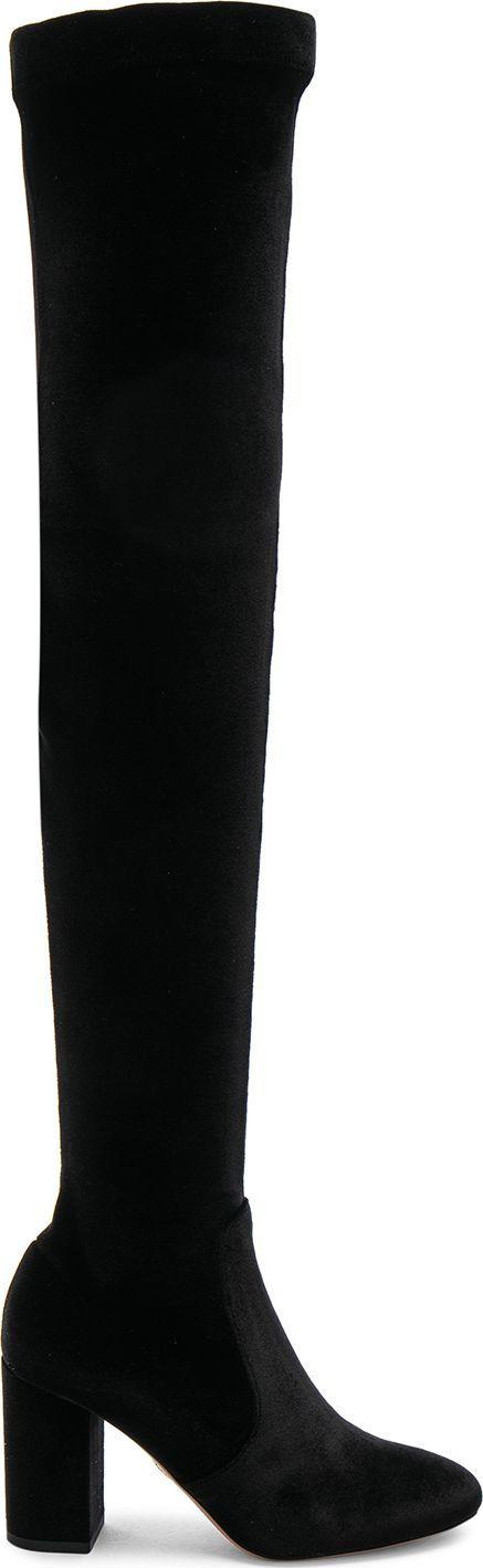 Aquazzura Velvet So Me Boots
