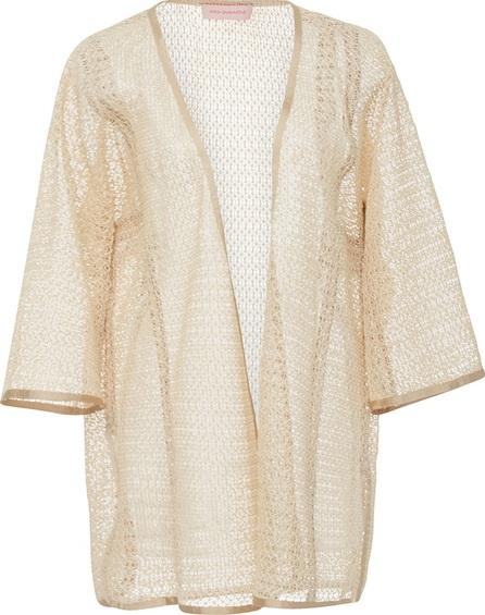 Anna Sammarone Open Weave Kimono Jacket