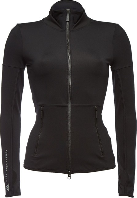 Adidas By Stella McCartney Performance Midlager Essentials Zipped Top