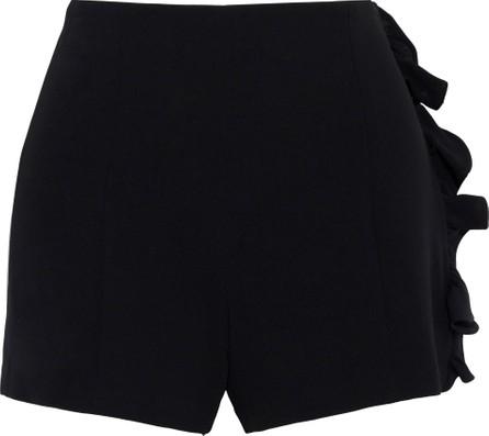 Cinq A Sept Kenzie ruffle-trimmed crepe shorts