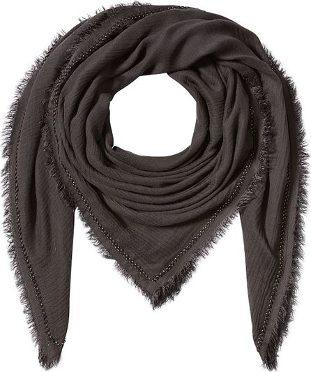 Faliero Sarti Embroidered Scarf with Cashmere