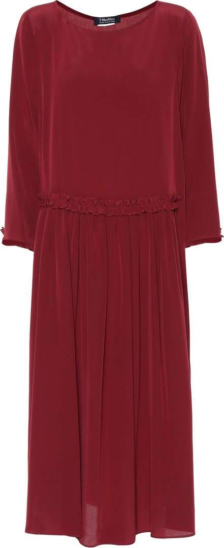 Max Mara James silk dress