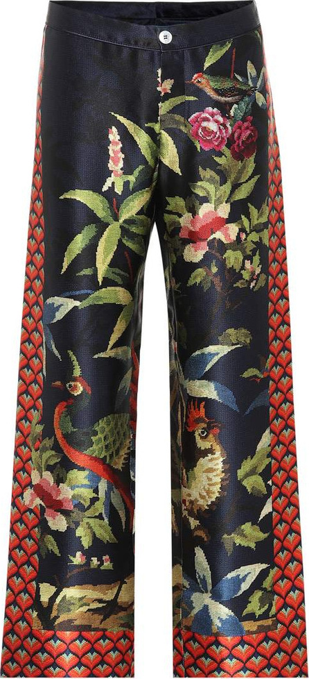 F.R.S For Restless Sleepers Ceo printed silk pajama pants