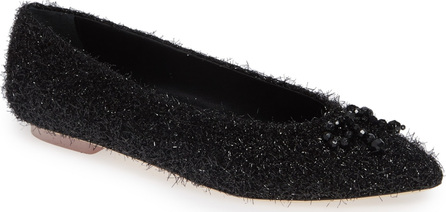 Simone Rocha Beaded Tinsel Flat