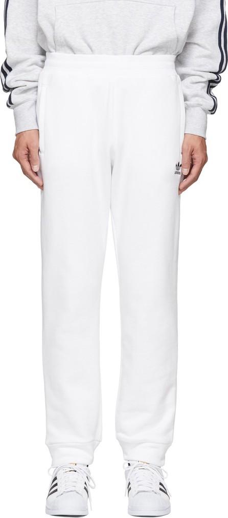 Adidas Originals White Trefoil Track Pants