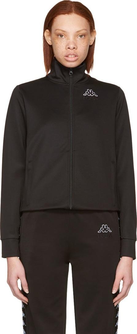 Gosha Rubchinskiy Black Kappa Edition Logo Sleeve Track Jacket