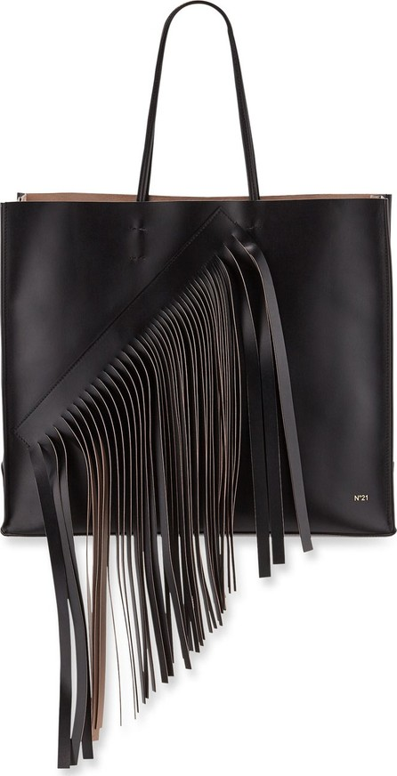 Nº21 Fringed Leather Tote Bag