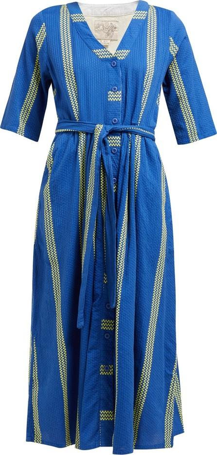 ace&jig Leelee striped cotton shirt dress