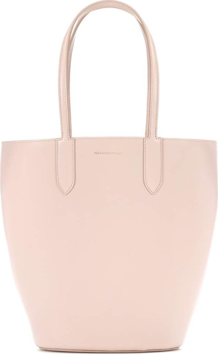 Alexander McQueen Basket Small leather shopper