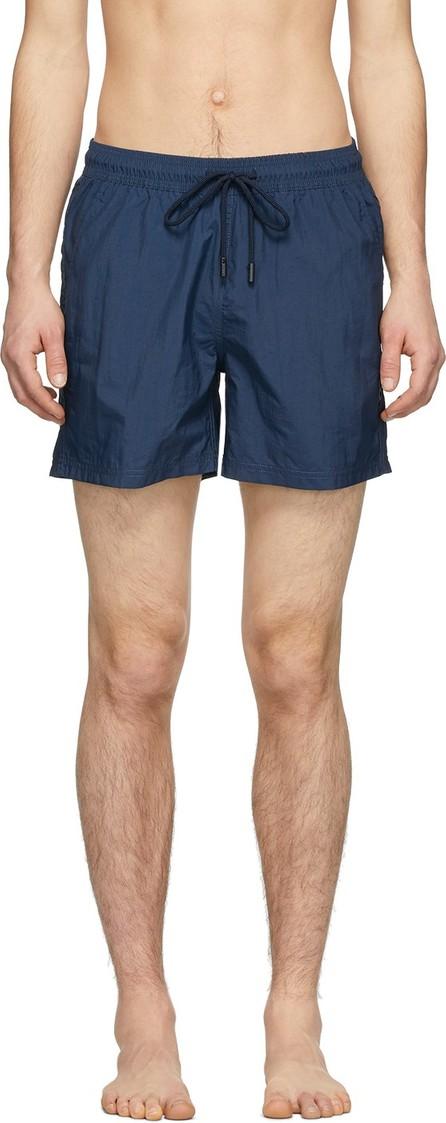 Etro Blue Regular Fit Swim Shorts