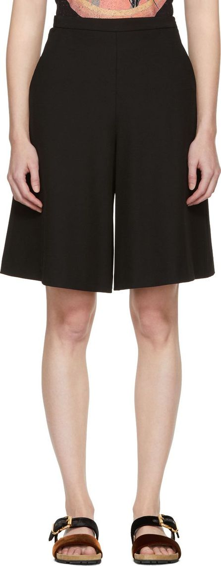 See By Chloé Black Fluid Shorts