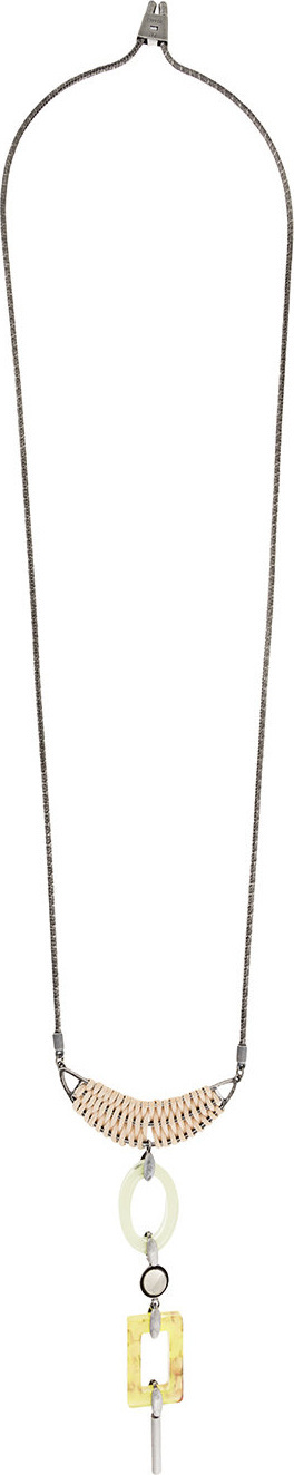 Ader.Bijoux Long pendant necklace