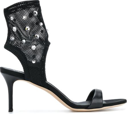 Giuseppe Zanotti Mesh crystal sandals