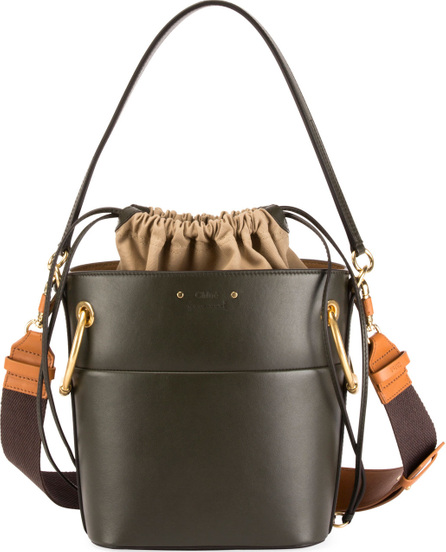 Chloe Roy Medium Smooth Leather Bucket Bag
