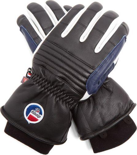 Fusalp Askel leather ski gloves