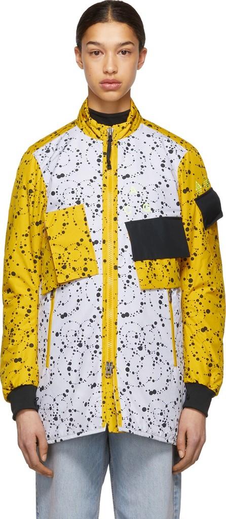 NikeLab White & Yellow Errolson Hugh Edition ACG Insulated Coat