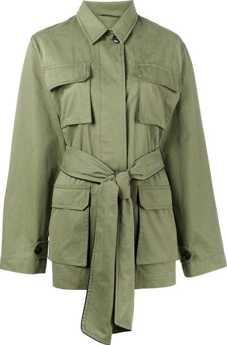 Ganni Fabre belted jacket