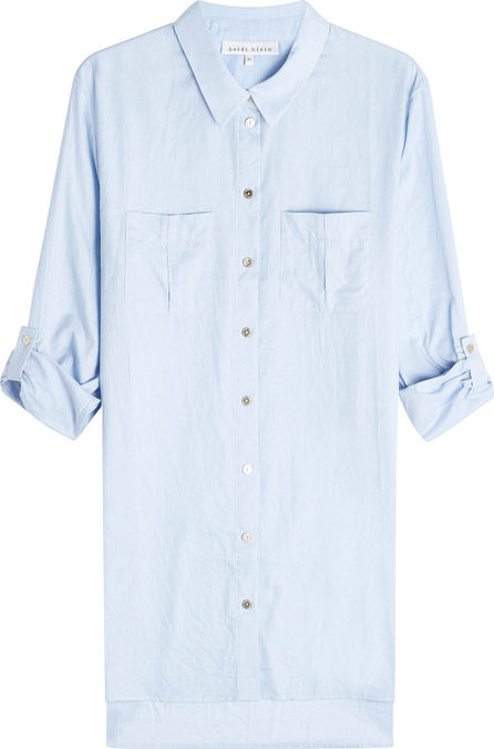 HEIDI KLEIN Dipped Hem Cotton Shirt