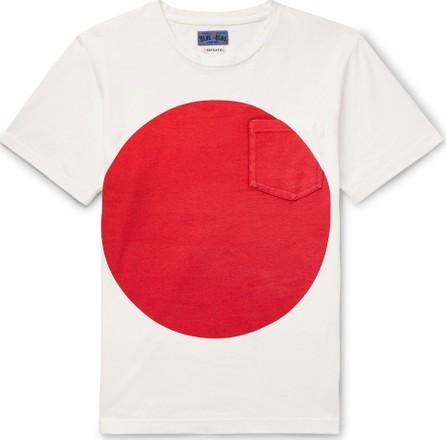 Blue Blue Japan Slim-Fit Printed Cotton-Jersey T-Shirt