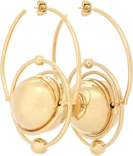 Paco Rabanne Saturn creole earrings