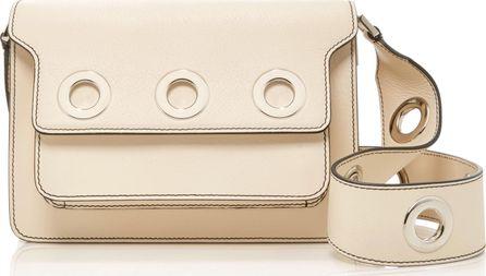 Marni Embellished Leather Shoulder Bag