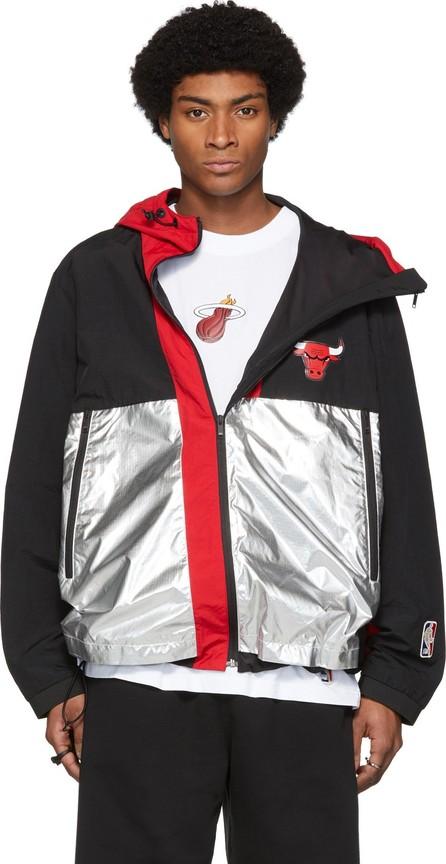 Marcelo Burlon Multicolor NBA Edition Chicago Bulls Windbreaker Jacket