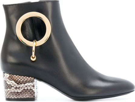 Coliac piercing ankle boots