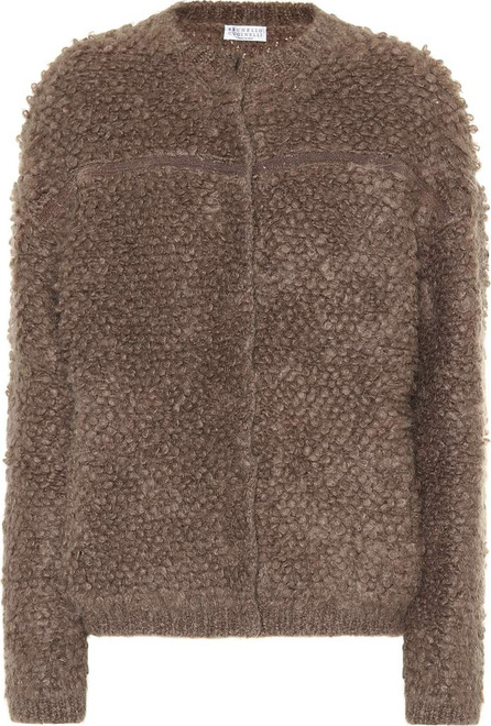 Brunello Cucinelli Mohair and wool-blend jacket